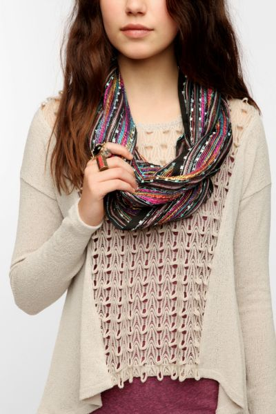 Textured Eternity Scarf