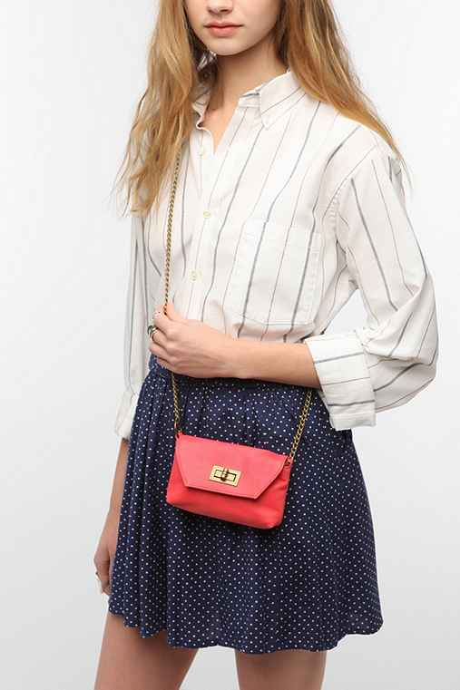 BDG Mini Turn-Lock Crossbody Pouch