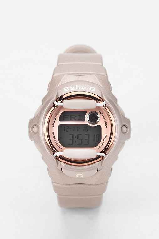 G-Shock Baby G Pink Champagne Watch