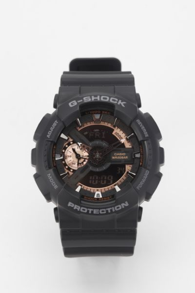 G-Shock GA-110 X-Large Combi Monotone Black Watch