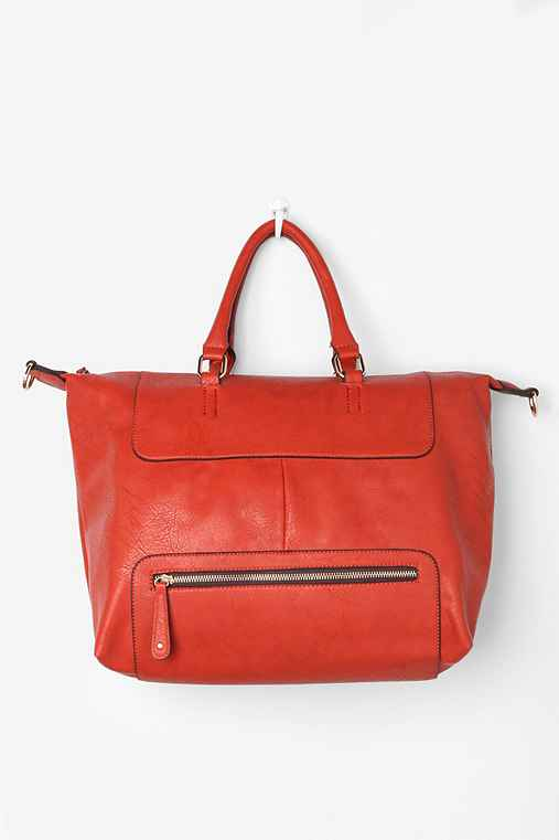 Exposed Zip Tote Bag