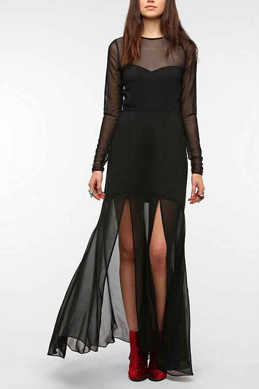 Silence & Noise Mistress Maxi Dress
