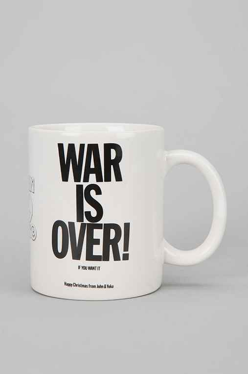 John & Yoko War Is Over Mug