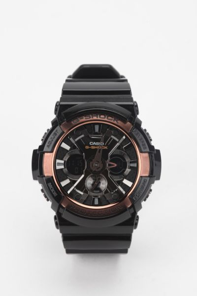 G-Shock Ga200Rg-1a Black Watch