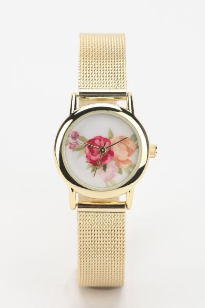 Rose Mesh Watch