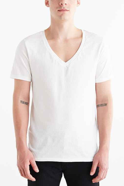 BDG Cotton Super-V Slim-Fit Tee