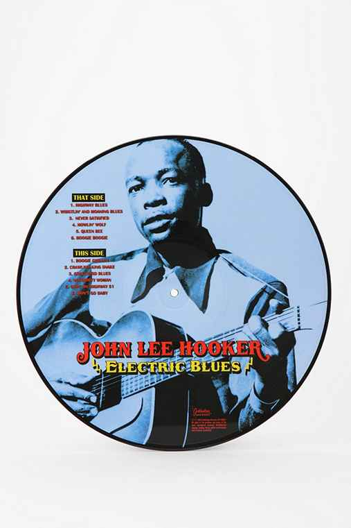 John Lee Hooker - Electric Blues Picture Disc LP