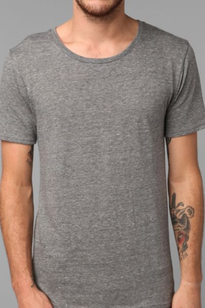 BDG Triblend Wide-Neck Tee