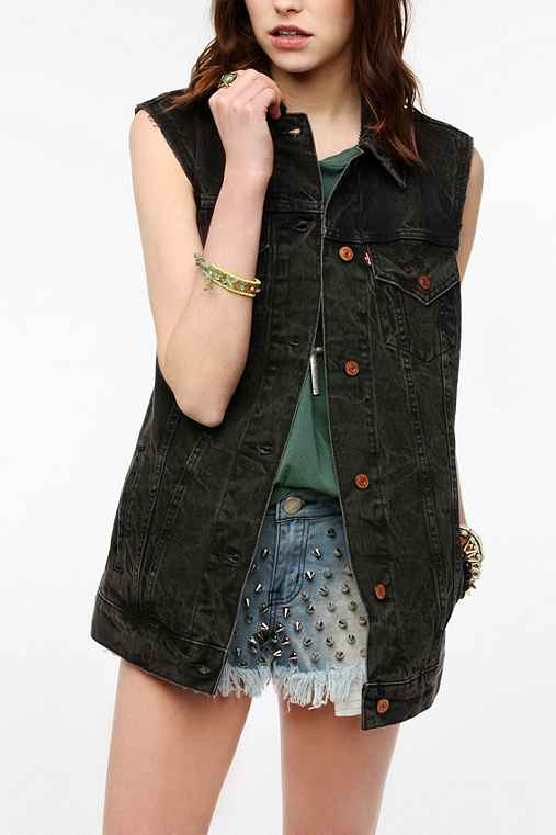 Levi's Oversized Denim Vest