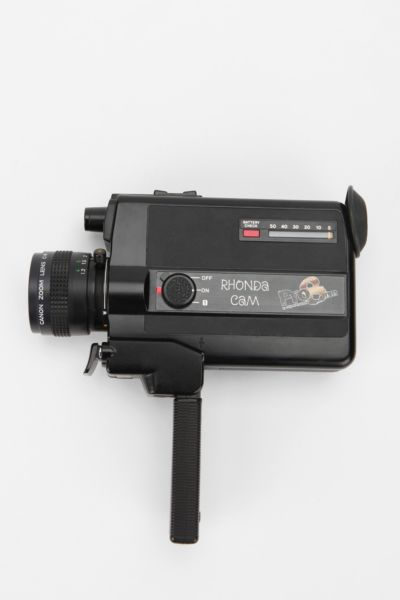 Rhonda CAM Restored Super 8mm Film Camera