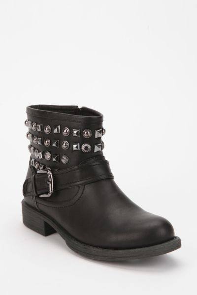 Wanted Vespa Studded Moto Boot