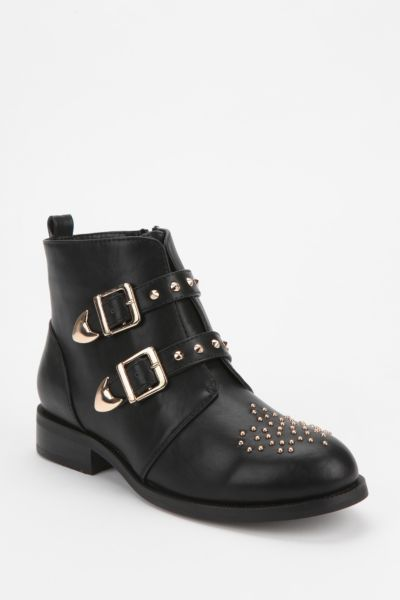Wanted Spark-Stud Ankle Boot