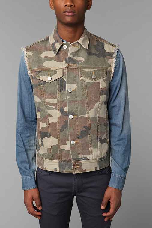 Standard Cloth Denim Vest