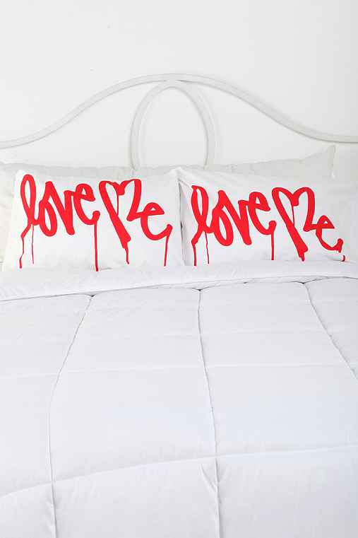 Love Me By Curtis Kulig Pillowcase - Set Of 2