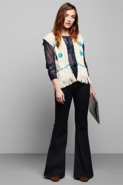 Vintage '70s Embroidered Vest