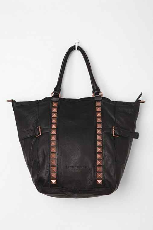 LIEBESKIND Berlin NYC Pyramid-Stud Tote Bag