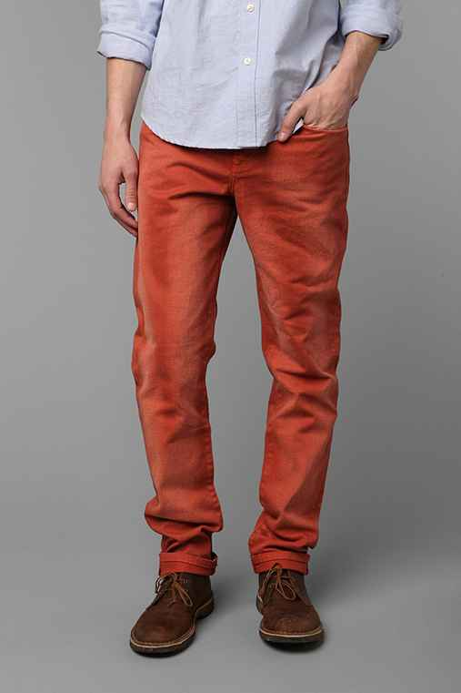 Standard Cloth Burnt Ochre Skinny Jean