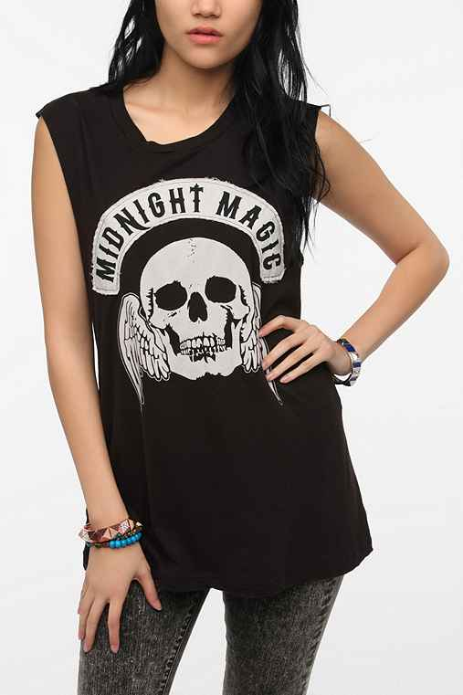 Truly Madly Deeply Midnight Magic Muscle Tee