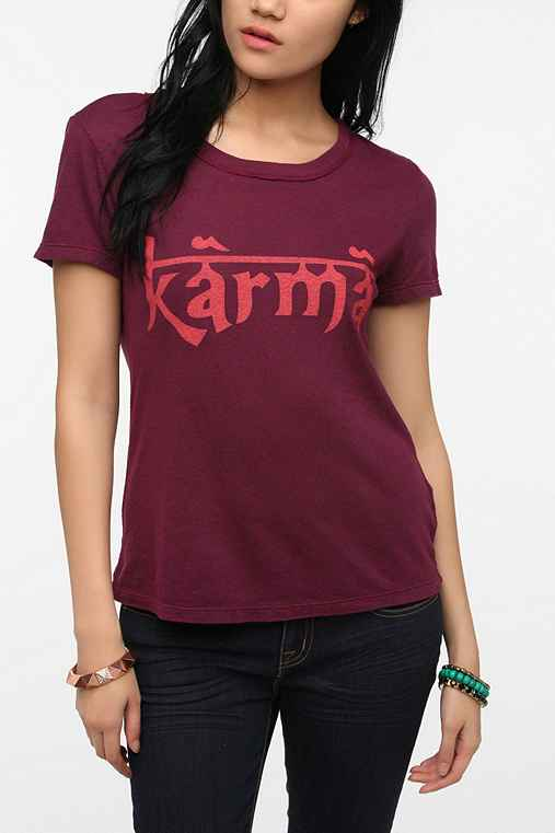Truly Madly Deeply Eastern Script Tee