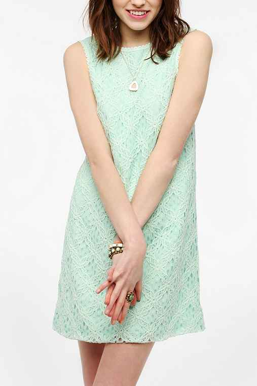 DV By Dolce Vita Crochet Olie Shift Dress
