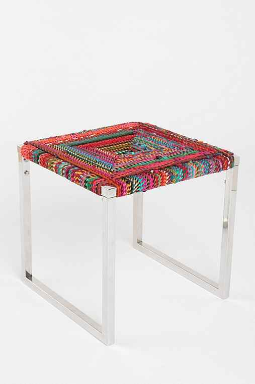 Concentric Square Side Table