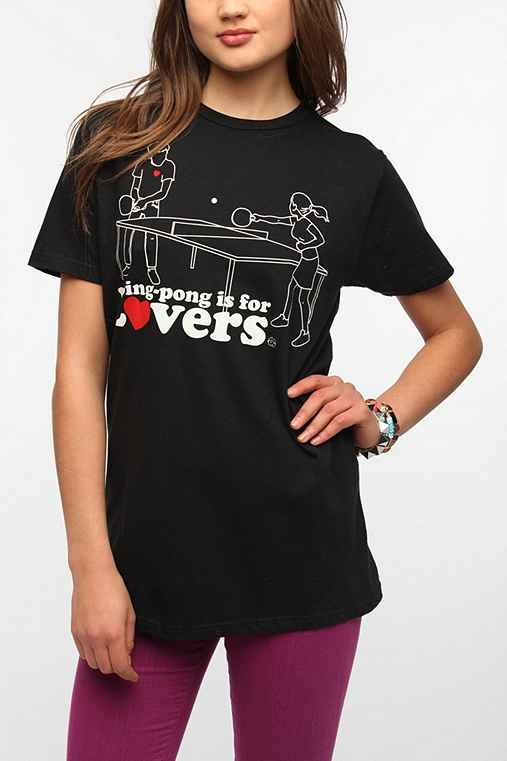 Ping Pong Is For Lovers Tee