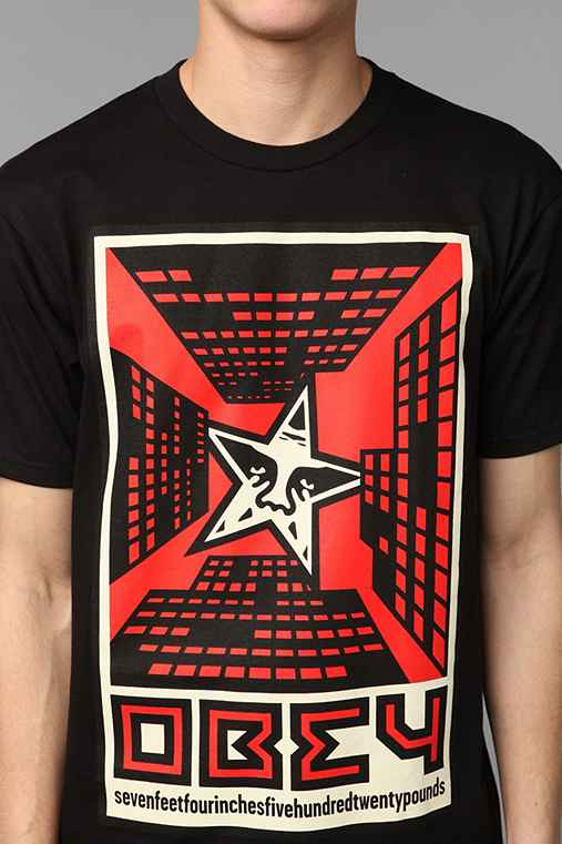 OBEY Fire In The Sky Tee