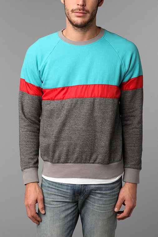 Hawkings McGill Colorblocked Crew-Neck Pullover