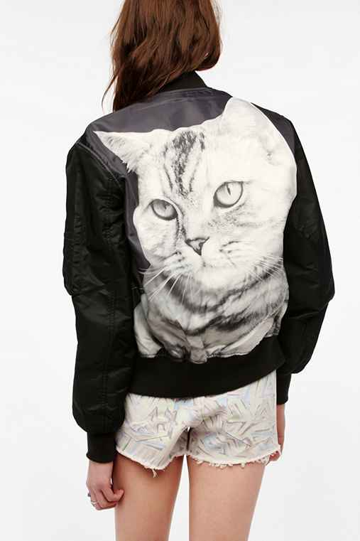 MadeMe MA1 Cat Bomber Jacket