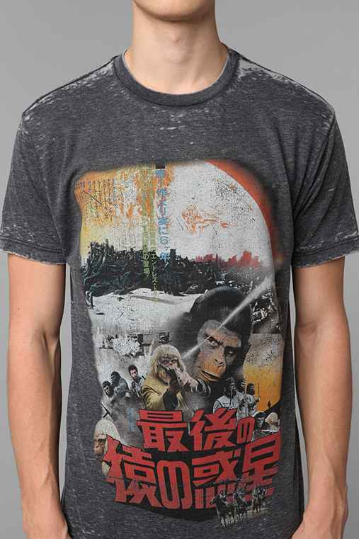 Planet Of The Apes Burnout Tee