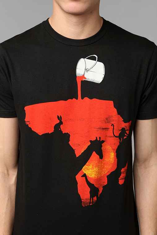 FUN Artists Painting Africa Tee