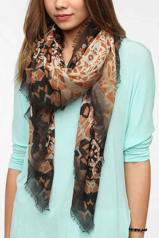Ombre Geo Scarf