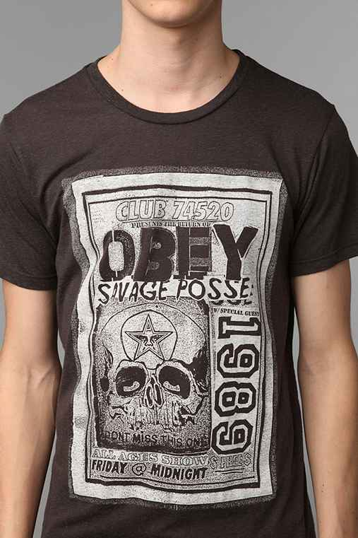 OBEY Salvage Posse Flyer Tee