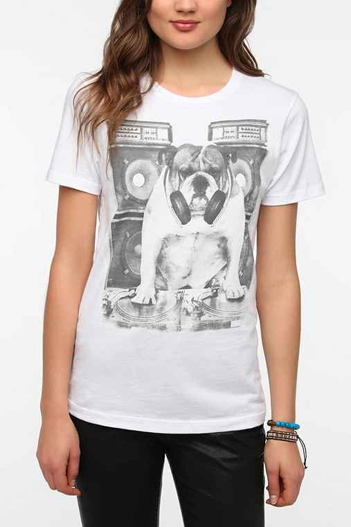 Five Crown DJ Bulldog Tee