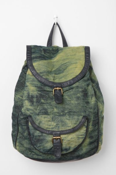 Deux Lux Bleached Acid-Wash Backpack