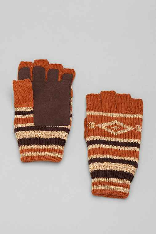 OBEY Diamond Printed Fingerless Glove