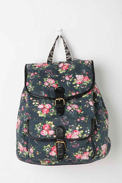 Deux Lux Floral Dot Backpack