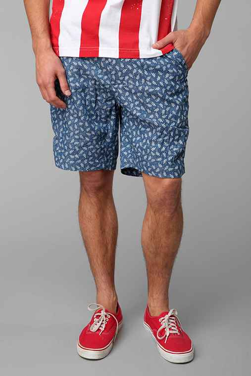 Penfield Printed Denim Short