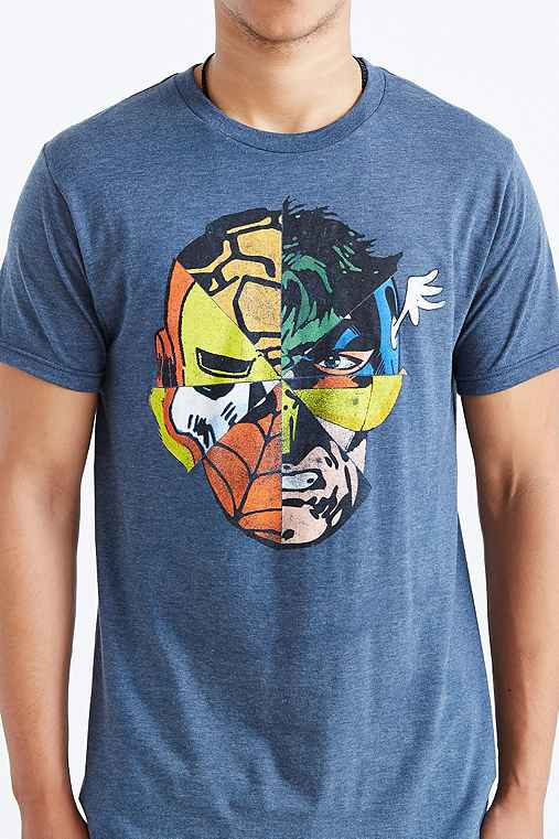 Marvel Faces Tee