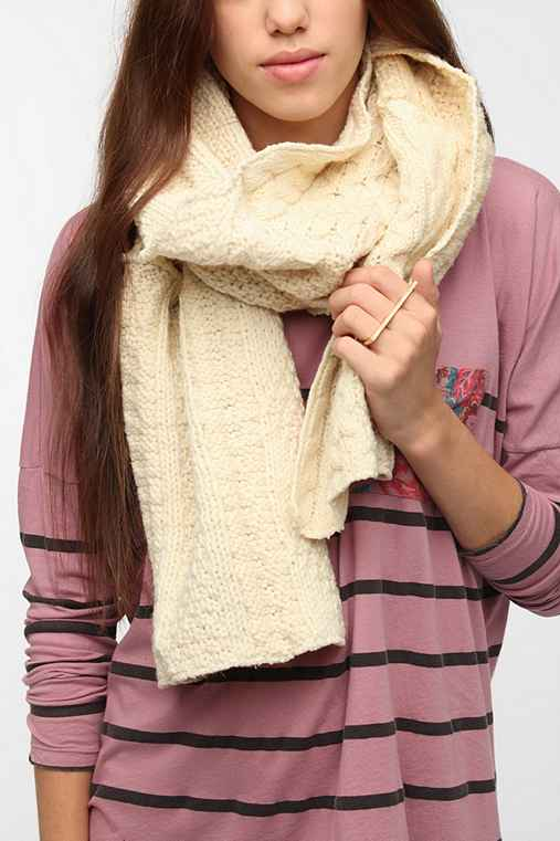 Urban Renewal Pieced Sweater Scarf