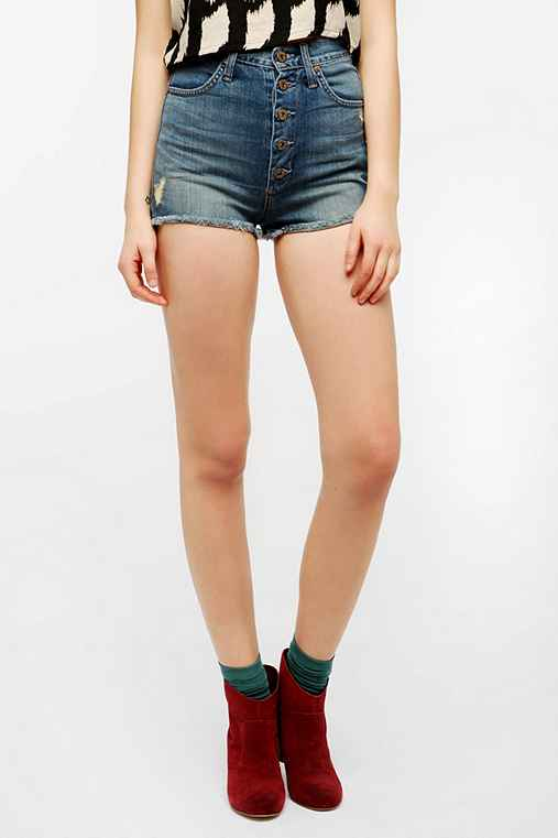 James Jeans Button Fly Cutoff Short