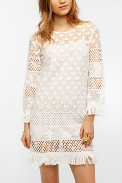 TBA Crochet Fringe Sophie Dress
