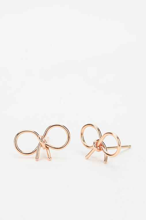 Bare Collection Knotted Bow Earring