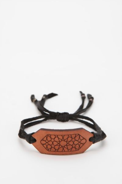 The Leather Atelier Geo Friend Bracelet