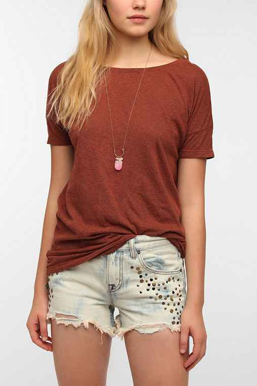 Truly Madly Deeply Wedge Boyfriend Tee