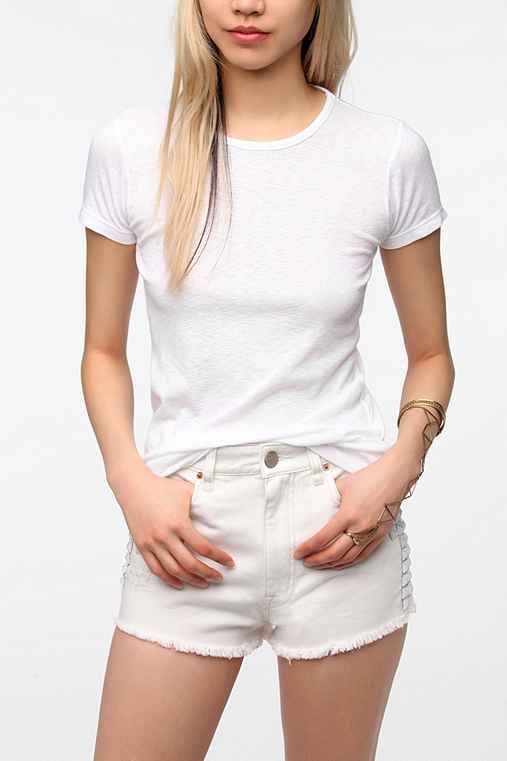 Truly Madly Deeply Slim Fit High Neck Tee