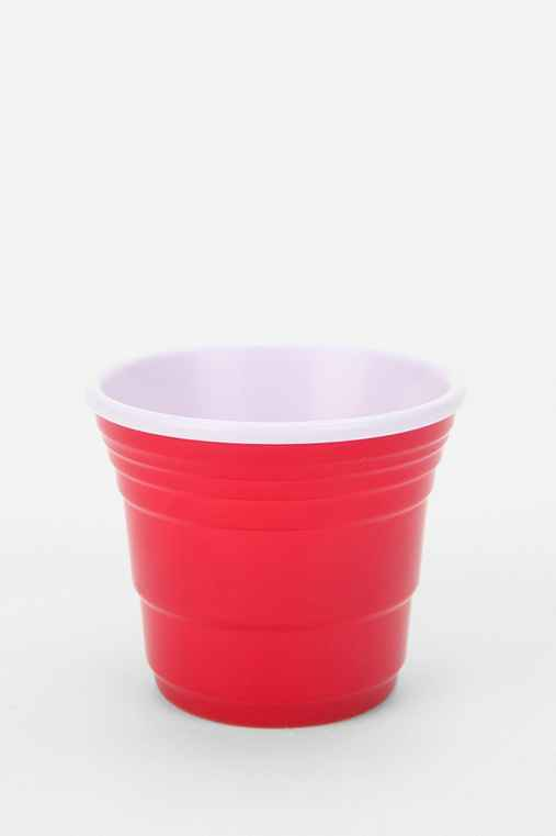 Red Cup Living Shot Glass