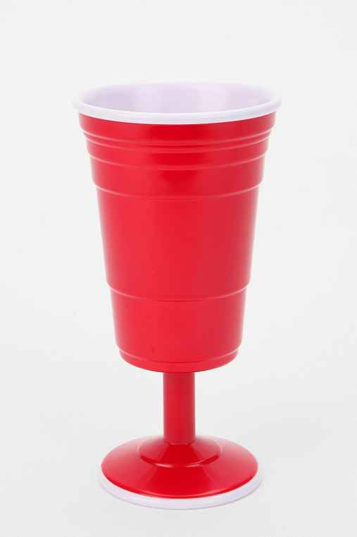Red Cup Living Wine Glass