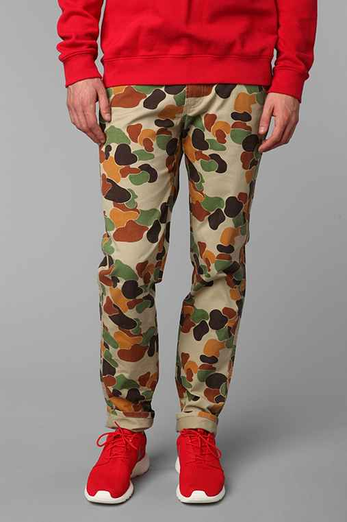 Koto Rabbit Camo Chino: Brown Multi 33/32 M app pants