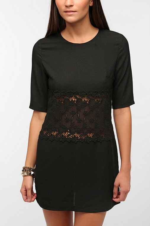 Sister Jane Lace Inset Andy Dress